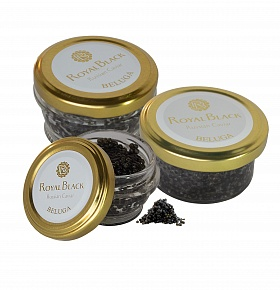 BELUGA caviar in the glass  can 28.4 gr